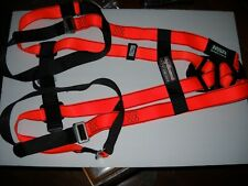 Msa Body Guard Safety Gear, Fall Protection Safety Harness, Orange & Black, New