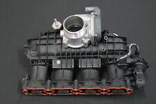 Audi A6 4g 1.8 TFSI Colector Admisión Válvula Mariposa Puente de Succión