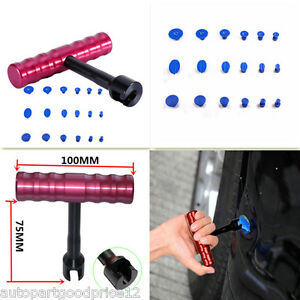 Pro Car Body Panel Paintless Hail Dent Removal Repair Tool Puller Lifter Kit