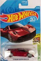 Hot Wheels - 2018 HW Exotics 2/10 '17 Pagani Huayra Roadster 243/365 (BBFJY24)