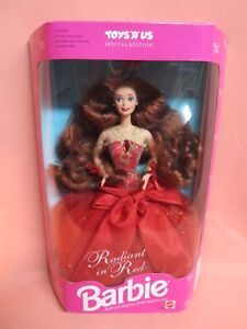 1992 Radiant in Red Barbie, Special Edition Toys R Us (1276) – NRFB