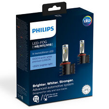 Philips Xtreme ultinon Bombillas LED Faros Foglight coche H8/H11/H16 (twin)