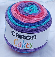 """Caron Cakes in """"MIXED BERRY"""" New, Smoke Free Home 7oz Worsted (4) Yarn POPULAR"""