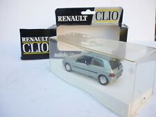 1/43 VINTAGE RENAULT CLIO IN METAL GREEN SOLIDO VN MINT BOX