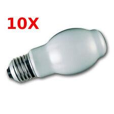 10X GE  Halogen Halogenlampe Halolux BT 100W E27 opal weiss BTT Lampe 10 Stück