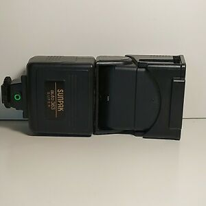 Sunpak Auto 383 Super High Power Flash - NOT WORKING - FOR PARTS ONLY - AS IS