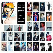 Fashion Cute 30pcs /Box Kpop BigBang G-DRAGON Photo card Lomo card