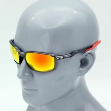 Oakley Siphon Sports Sunglasses Grey ink frame Red Prizm Lens