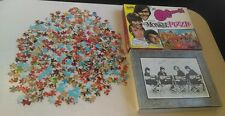 Rare 1967 Official The Monkees Fairchild Jigsaw Puzzle 1580 MISSING 6 PIECES