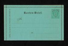 (YYAI 321) Austria 1883 postal stationery card