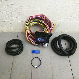 1972 - 1981 e12 BMW Ultra Pro Wire Harness System 12 Fuse long color update