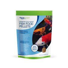 Aquascape #98871 Premium Cold Water Koi Fish Food Medium Pellets 2.2 Lbs. (1Kg)