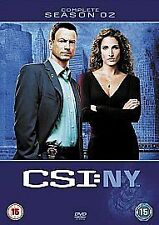 CSI: NEW YORK - COMPLETE SEASON 2 NEW REGION 2 DVD