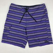 New listing Nike 6.0 Mens Sz 38 Board Shorts Striped Purple Skate Swim Cargo 387366-500