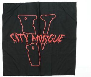 Rare Vintage VLONE x City Morgue Bandana Hip Hop Streetwear Supreme ASAP Bari