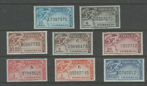 Uruguay revenue Fuscal stamp 10-9-20T MNH Gum a18