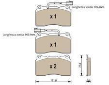 PASTIGLIE FRENO ANTERIORE ALFA ROMEOBRERA 159 2.4 JTDm 20V