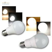 E27 LED Birne mit Bewgungsmelder 6W 600lm daylight Leuchtmittel PIR Sensor 230V