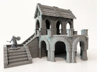 Old Church Chapel - Dungeons and Dragons DnD Warhammer 28mm Tabletop Terrain
