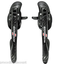 NEW 2017-18 Campagnolo RECORD 11 ULTRA Ergo Shifters Shift Brake Levers & Cables