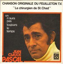 """JEAN CLAUDE PASCAL """"LE CHIRURGIEN DE ST-CHAD"""" B.O. FILM 70'S SP DEESSE 698"""