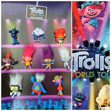 McDonald's 2020 TROLLS WORLD TOUR COMPLETE SET of 10 *SEALED* in packages