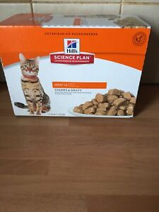 Hill's Science Plan Adult Ocean Fish Flavour Wet Cat Food 12 x 85g - OUT OF DATE