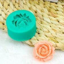 New A Rose Flower Sugar Cake Model Chocolate Jelly Pudding Baking Mould Health