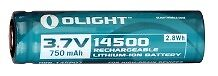 Olight 14500 3.7, 750mAh Protected Lithium-Ion Battery