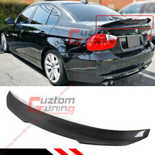 FOR 2006-11 BMW E90 3 SERIES M3 SEDAN PSM STYLE CARBON FIBER TRUNK SPOILER WING