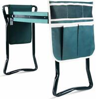 New Ohuhu Upgraded Garden Kneeler and Seat with Thicken& Widen Soft Kneeling Pad