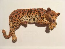 Nwf National Wildlife Victoria Impex Leopard Computer Tv Monitor Shelf Topper