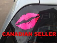 Lip Kiss 2.5X3.3 Decals Stickers Car Truck Mirror Stick People straightener JDM