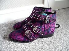"PRIMARK "" THIS SEASONS"" VINTAGE Double strap buckle boots size 6 bnwts"