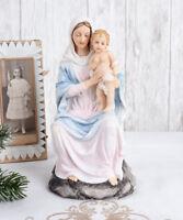 Madonna mit Jesuskind Sakrale Skulptur Mutter Gottes heilige Maria