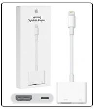 Genuine Apple Lightning A Hdmi Cable Adaptador AV TV digital para iPad iPhone