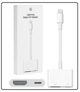 Genuine Apple Lightning to HDMI Digital TV AV Adapter Cable For iPad iPhone