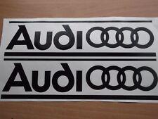QUATTRO AUDI panel skirt car vinyl sticker decal.  12 year vinyl