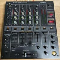 Pioneer DJM-600 DJ Mixer model 4-Channel AC120V 60Hz 36W Japan Black Model