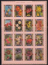 Umm al qiwain 1972 ** mi.1034/49 B klbg. flores Flowers flora