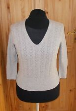 V Neck 3/4 Sleeve Jumpers & Cardigans Medium NEXT for Women