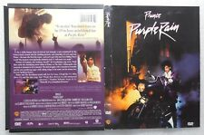 LIKE NEW Rare Full Screen vers. Purple Rain 1984 DVD Prince Apollonia Morris Day