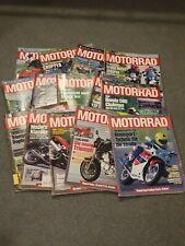 Motorrad: Die große Motorrad-Zeitschrift 14 Zeitschriften aus den 90er Jahren