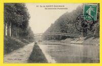 cpa FRANCE 94 - ILE de SAINT MAURICE (Val de Marne) La Nouvelle PASSERELLE