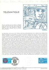 DOCUMENT PHILATÉLIQUE - YT 2130 - 1er JOUR 1981
