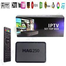 MAG 250 Genuine Original From IPTV/OTT Box, Faster than MAG MU