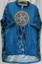 Primal Wear lord of the ringz print cycling jersey w/ 3 back pockets men's XL