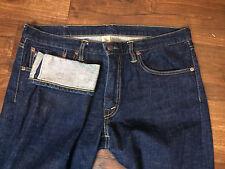 RRL Double RL Mens Stretch Skinny Fit Indigo Japanese Selvedge Jeans 31 USA