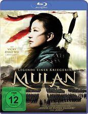 MULAN - LEGENDE EINER KRIEGERIN  BLU-RAY NEU  ZHAO WEI/JAYCEE CHAN/+