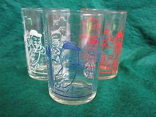 Vintage Swanky Swig ETA Peanut Butter Drinking Glass Peanuts Cricket (3 Glasses)
